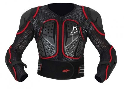 Alpinestars Bionic 2 S/S Jacket - Black/Red