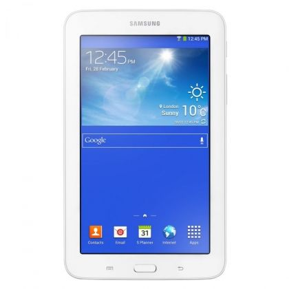 "Таблет Samsung Galaxy Tab 3 Lite с процесор Dual-CoreTM 1.20GHz, 7"", 1GB DDR2, 8GB, Wi-Fi, Android 4.2 Jelly Bean, Бял"